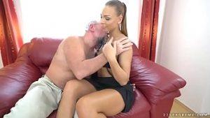 Lucky santa baise une actrice porno de poésie